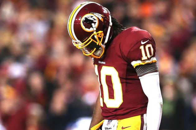 You're Welcome to Become a Little More Upbeat About Robert Griffin III's Rehab
