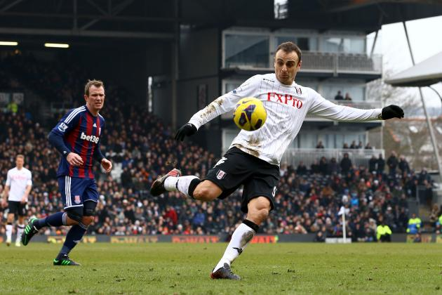 Premier League: Dimitar Berbatov's Goal Earned Fulham a 1-0 Win over Stoke
