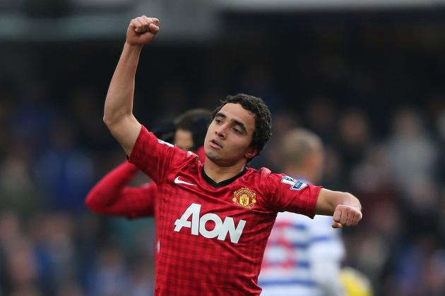 Rafael Scores a Screamer for Manchester United Against QPR