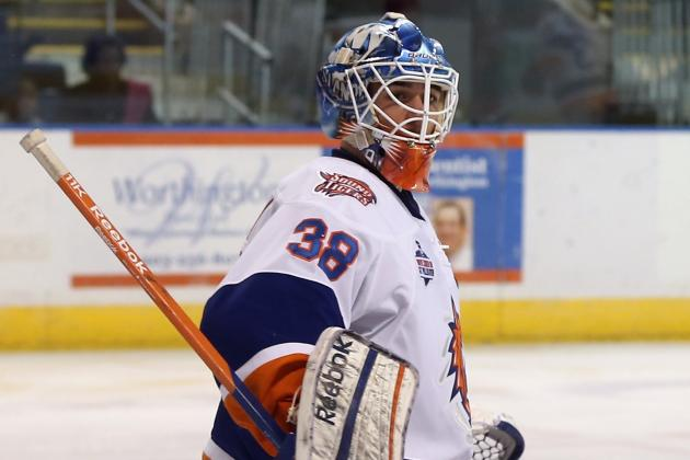 Rick DiPietro Clears Waivers, Sent to AHL; Kevin Poulin Recalled