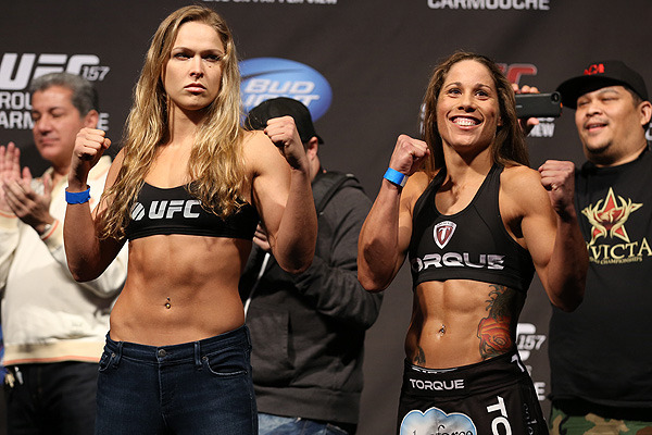 Rousey vs. Carmouche: Live Blog for UFC 157's Main Event