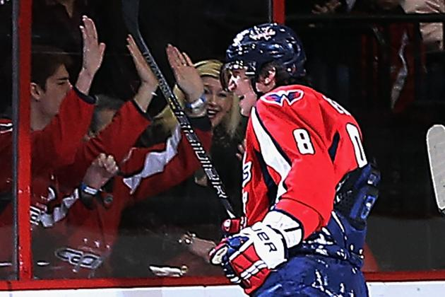 Devils Fall to Capitals, 5-1, as Alex Ovechkin Scores Hat Trick