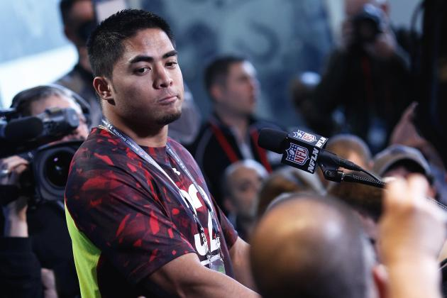 Manti Te'o Wins Back Support During 2013 NFL Combine Press Conference