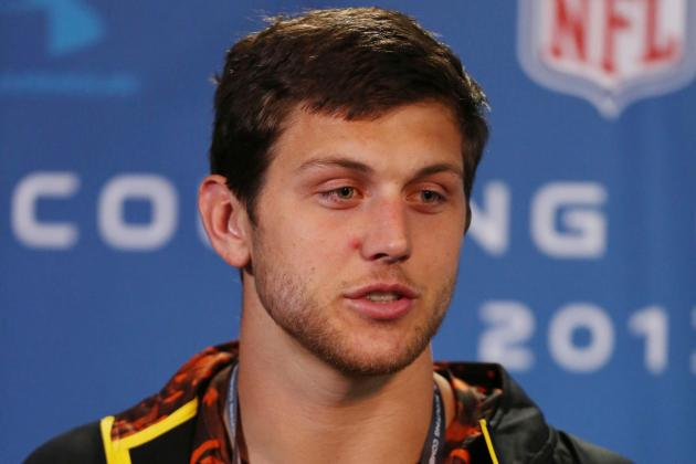 Tyler Eifert Solidifies Draft Stock in Work with Tight Ends