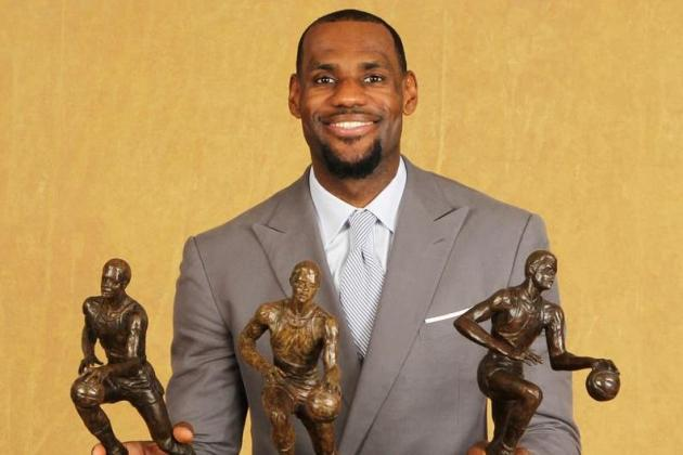 2012-13 NBA Most Valuable Player: LeBron James, Kevin Durant, Tony Parker