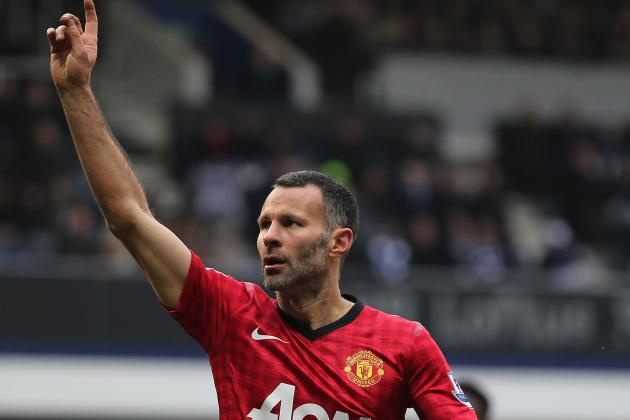 Giggs Insists Manchester United Will Not Be Getting Carried Away in Title Bid