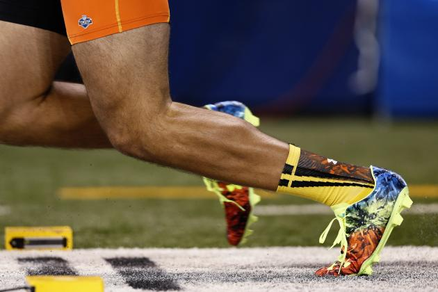 Adidas Offers Deal to Fastest Player at Combine