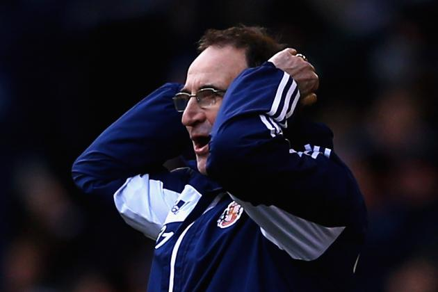 Martin O'Neill Believes Sunderland Should Have Had Penalty in West Brom Defeat