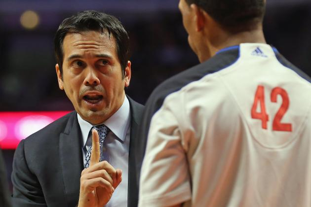 For Miami Heat Coach Erik Spoelstra, Nitpicking Is Tough Right Now