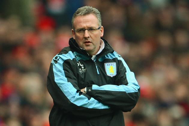 Paul Lambert Feels Aston Villa Were Unlucky to Lose at Arsenal