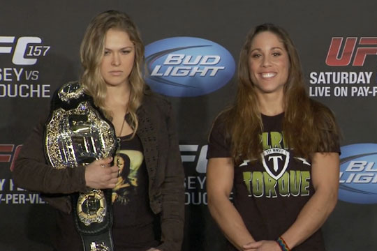 UFC 157: Breaking Down Historic Ronda Rousey vs. Liz Carmouche Fight