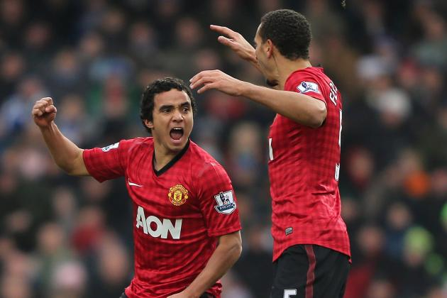 Rafael Delivers at Both Ends as RVP Limps off