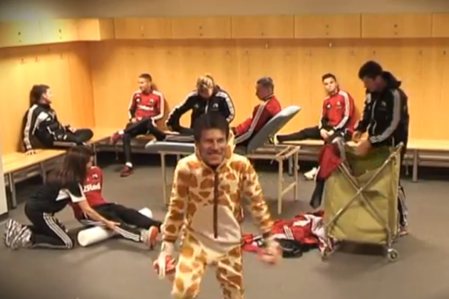 Swansea City Footballers Do the Harlem Shake [VIDEO]