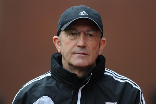 Stoke Boss Tony Pulis Was Disappointed to See His Side Lose 1-0 at Fulham
