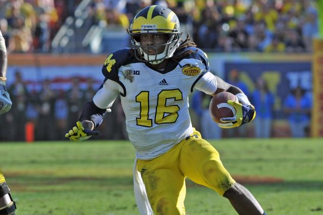 Denard Robinson Eager to Transform at NFL Combine