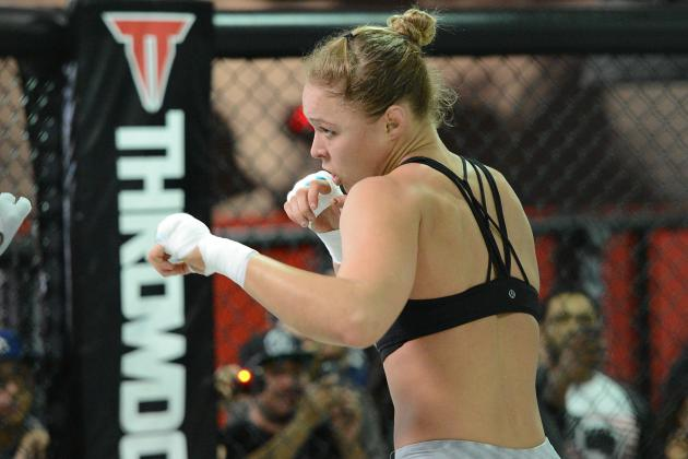 Ronda Rousey Will Dispatch Liz Carmouche in First Round at UFC 157