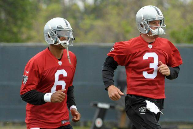 McKenzie Says Raiders Will Have Competition at QB, and Every Position