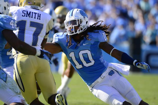Ravens Met with North Carolina Linebacker Kevin Reddick