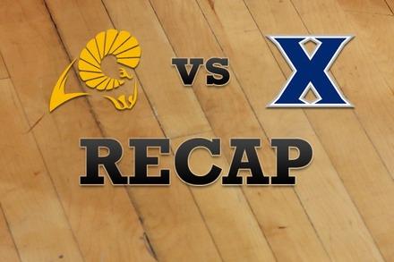 VCU vs. Xavier: Recap, Stats, and Box Score