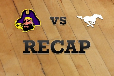 East Carolina vs. Southern Methodist: Recap, Stats, and Box Score