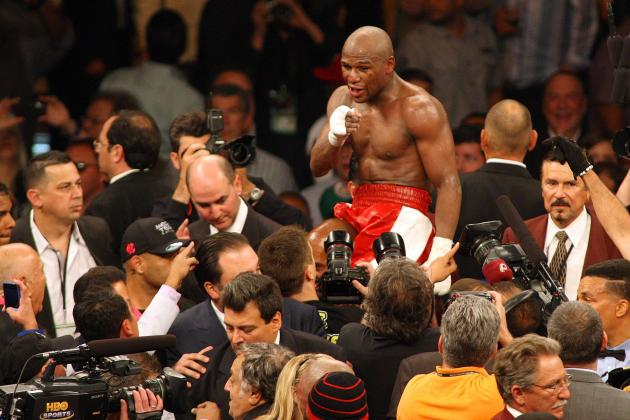 Floyd Mayweather Under Pressure After Robert Guerrero's 'Slowing Down' Comments
