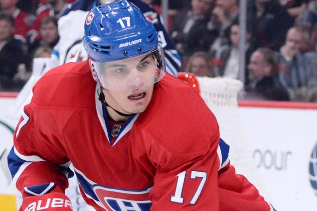 Habs Announce Rene Bourque Will Miss Game vs. Rangers with Flu