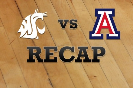 Washington State vs. Arizona: Recap, Stats, and Box Score