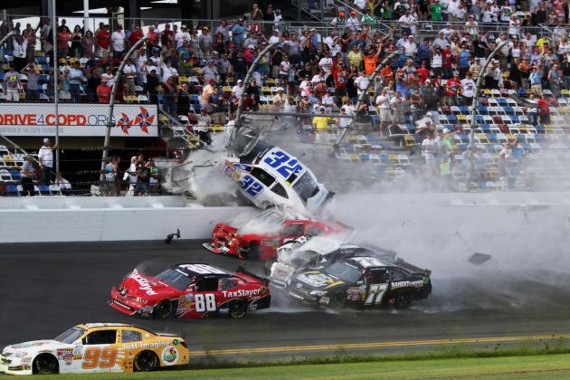NASCAR Reports 28 People Were Injured in Kyle Larson's Crash at Daytona
