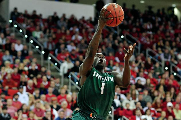 Miami Basketball: Loss to Wake Forest Isn't Reason to Panic for Hurricanes