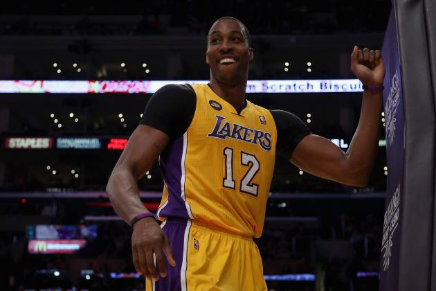 Fitter Dwight Howard Will Make LA Lakers Title Contenders in Time for Playoffs