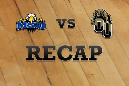 Morehead State vs. Oakland: Recap, Stats, and Box Score
