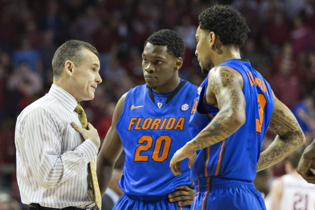 No. 5 Florida 71, Arkansas 54