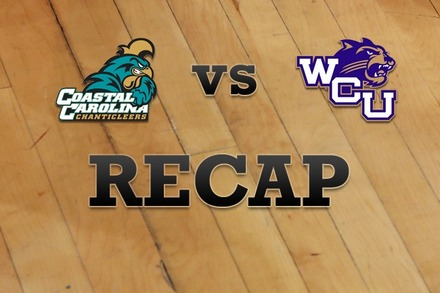 Coastal Carolina vs. Western Carolina: Recap, Stats, and Box Score