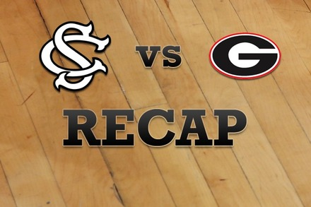 South Carolina vs. Georgia: Recap, Stats, and Box Score