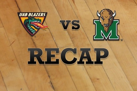 UAB vs. Marshall: Recap, Stats, and Box Score