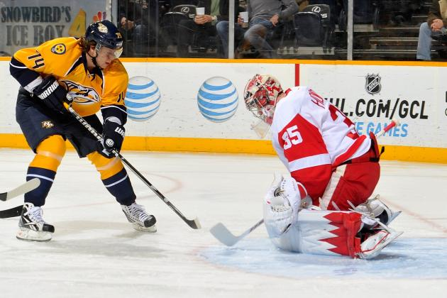 Wings End Skid as Howard Blanks Predators