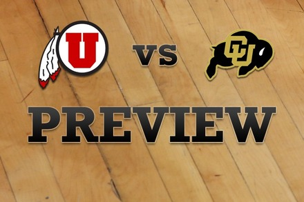 Utah vs. Colorado: Full Game Preview