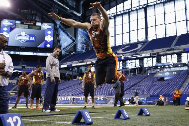2013 NFL Combine: Bears Prospect Updates from Day 1 and 2