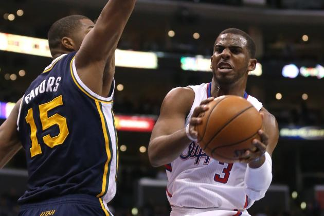 NBA Gamecast: Jazz vs. Clippers