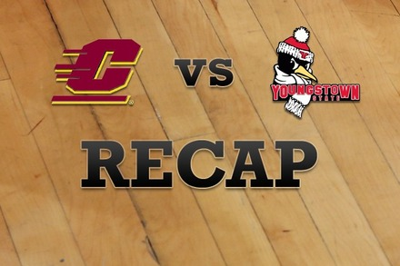 Central Michigan vs. Youngstown State: Recap, Stats, and Box Score
