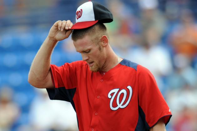 Stephen Strasburg Keeps Composure Despite Rough First Inning
