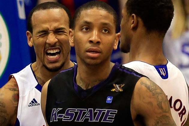McGruder-Led Kansas St. Stays in Big 12 Hunt