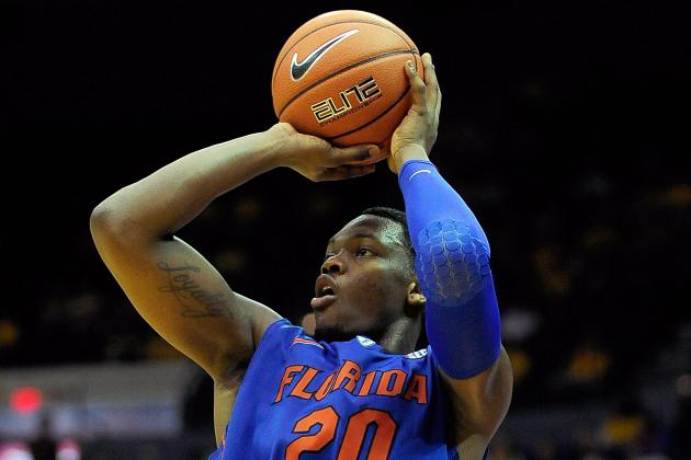 Depleted Gators Without 3-Point Threat Frazier