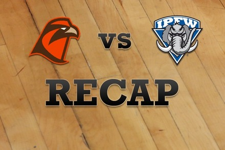 Bowling Green vs. IPFW: Recap, Stats, and Box Score