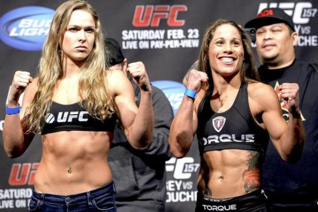 UFC 157: Rousey vs. Carmouche Live Updates, Highlights and Analysis