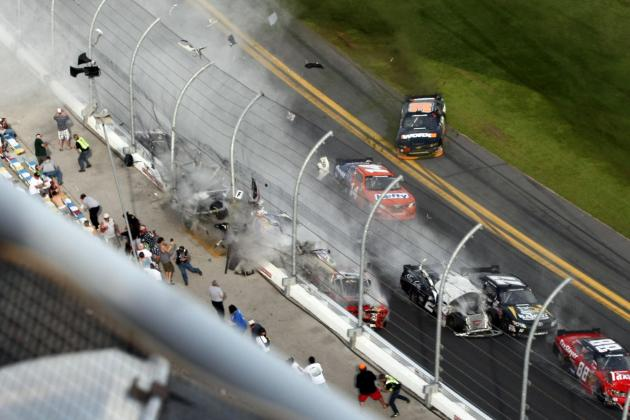 Daytona Eyewitness: It Was Like a War Zone