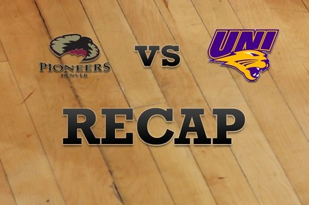 Denver vs. Northern Iowa: Recap, Stats, and Box Score