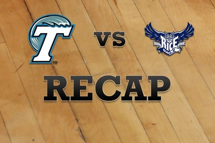 Tulane vs. Rice: Recap, Stats, and Box Score