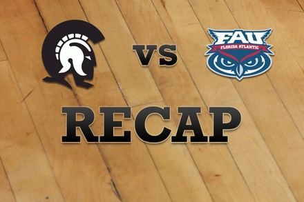 Ark-Little Rock vs. Florida Atlantic: Recap, Stats, and Box Score