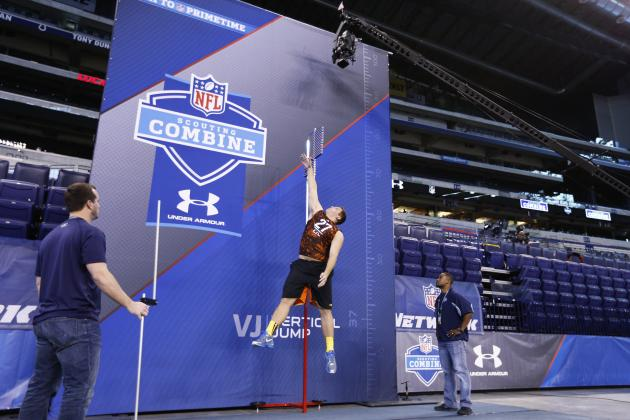 2013 Combine: Lions Get a Great Look at Tackle Prospects on Saturday